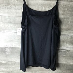 Lane Bryant Tops - Lane Bryant black stretch camisole tank top